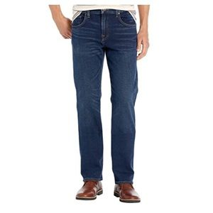 7fam 'Austyn' relaxed straight fit jeans, size 38